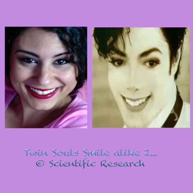 Identical Twin Soul Smile: Michael Jackson & Susan Elsa ©